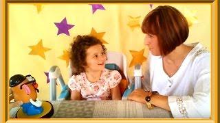 ☯ Rазвитие ребенка. Французский язык для малышей: 1-ый урок с Алис - Приветствие