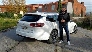 Opel Insignia Sports Tourer 1.5l Turbo 165CV. Prueba completa / Review en español