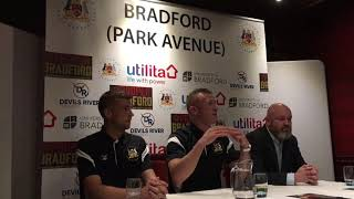 Garry Thompson Press Conference
