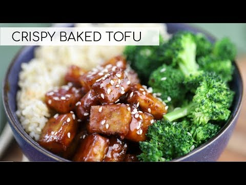 HOW TO COOK TOFU | crispy baked tofu recipe
