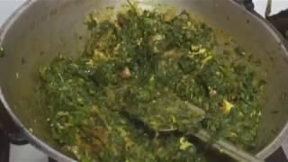 how to cook shaag pethalu or ghonto | vegetarian fried | easy shak recipe