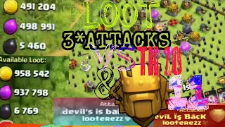 Some best attacks & loot in clash of clans |Hindi|vaibhav gaming