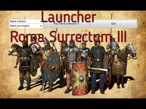 Launcher Roma Surrectum III