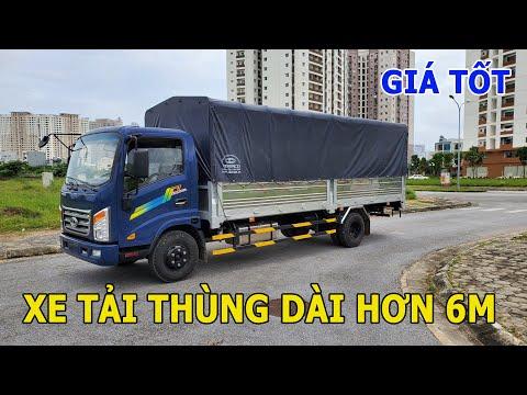 Xe tải thùng dài 6m 2 tải trọng 3.5 tấn giá quá tốt.