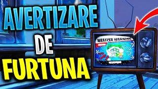 Avertizare De FURTUNA pe TOATE Televizoarele din FORTNITE !? - RIP Harta ?