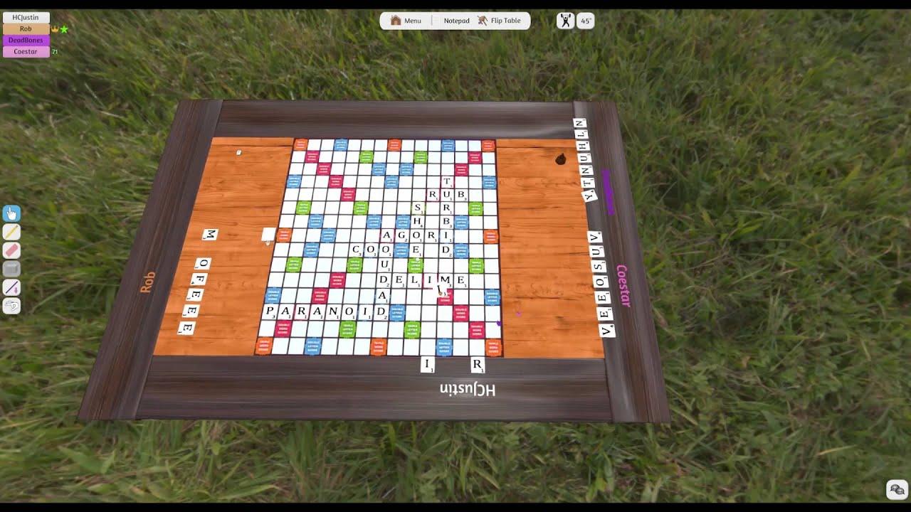 Buffalo Wizards | Tabletop Simulator: Scrabble