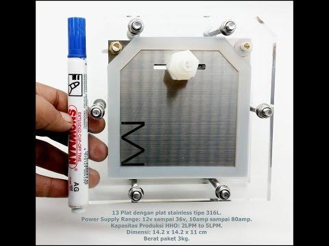 Generator HHO 2LPM to 5LPM 13 plat tipe H1314