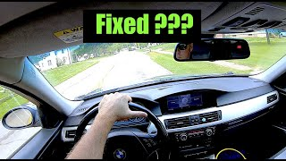Fixed The BMW E90 N52 Rough idle Vanos Issue???