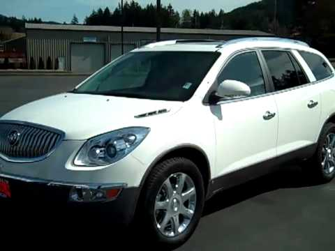 2009 Buick Enclave Awd Cxl White Olympic Vehicle Enumclaw Seattle Auburn Wa V1774
