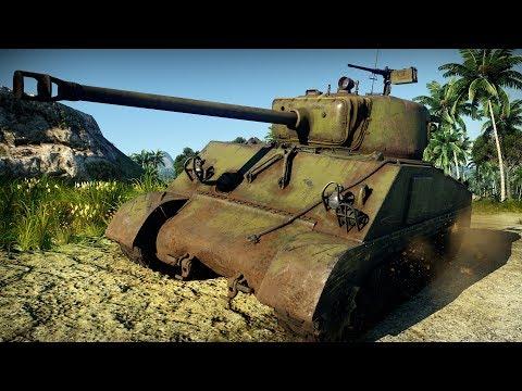 Обзор Советский М4А2   Шерман такой Шерман    War Thunder