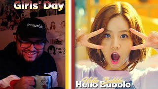 Girl's Day(걸스데이) - Hello Bubble MV REACTION!!! | STRAIGHT UP…