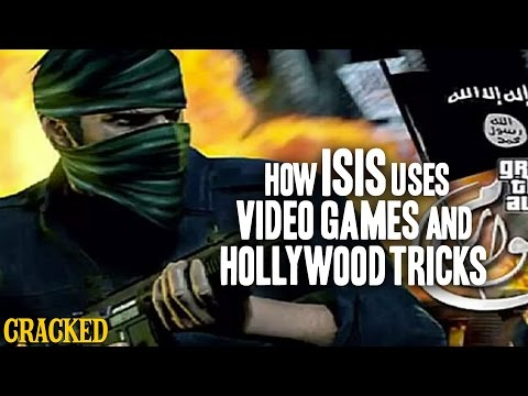 How ISIS Uses Video Games & Hollywood Tricks For Recruiting (ISIL) - Cracked Goes There