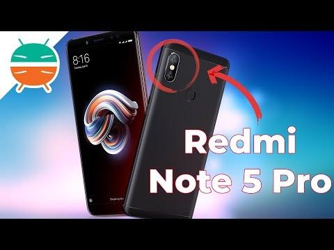 Xiaomi Redmi Note 5 Pro è ufficiale: BEST BUY per il 2018?