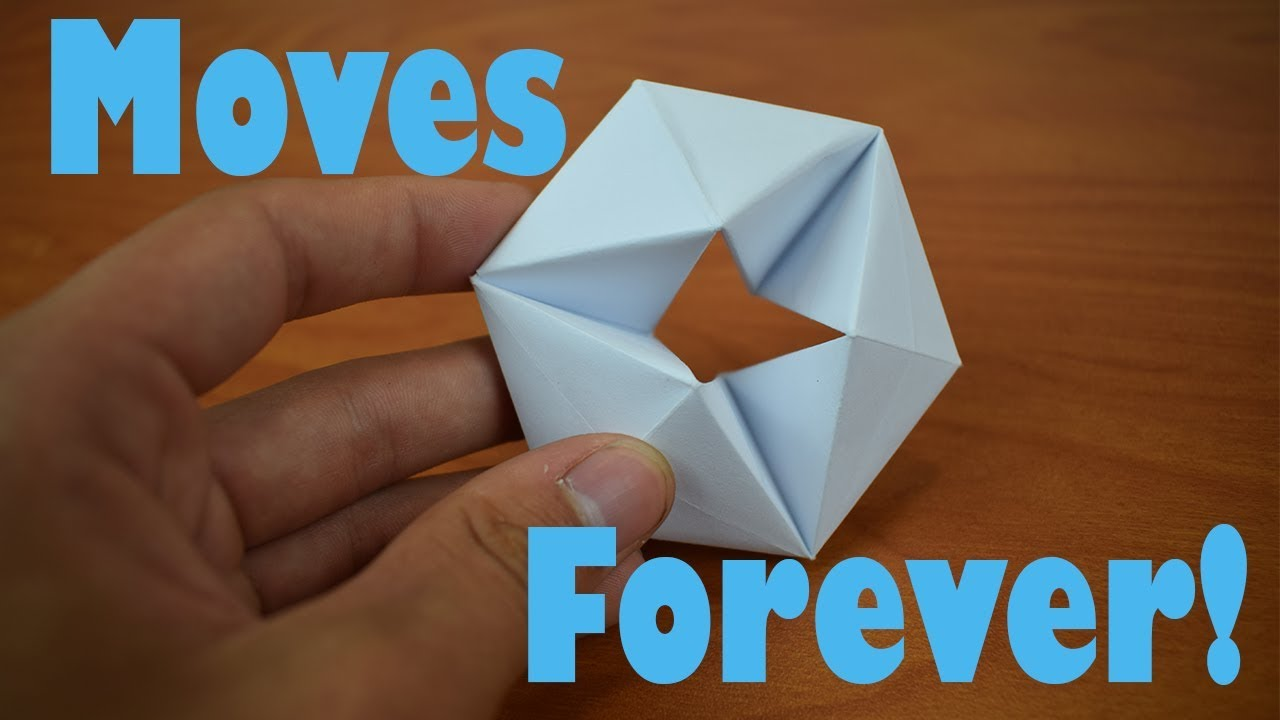 How To Fold An Origami Moving Flexagon