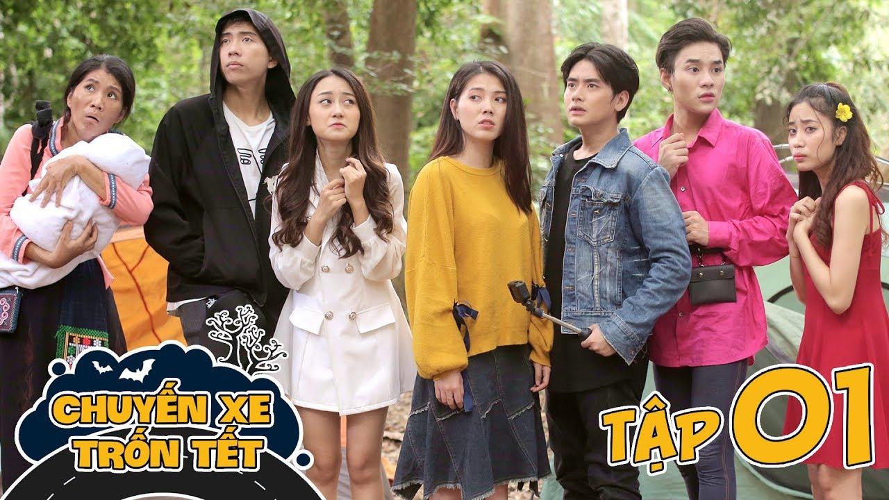 CHUYẾN XE TRỐN TẾT | TẬP 1 : Hành Trình Bão Táp | Phim Hài Tết  2020