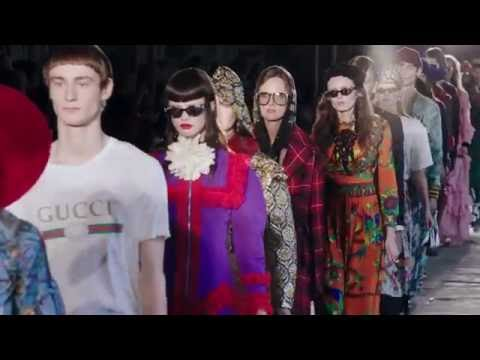 Poem to London: The Gucci Cruise 2017 Fashion Show