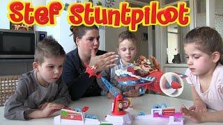 Gaaf spel: Stef Stuntpiloot Hasbro