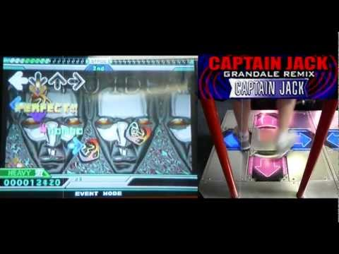 Kon - CAPTAIN JACK (GRANDALE REMIX) (Heavy) AAA on DDR EXTREME