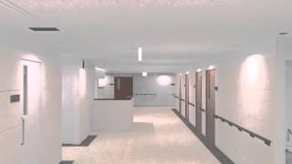 稲沢市民病院 病棟へのルート