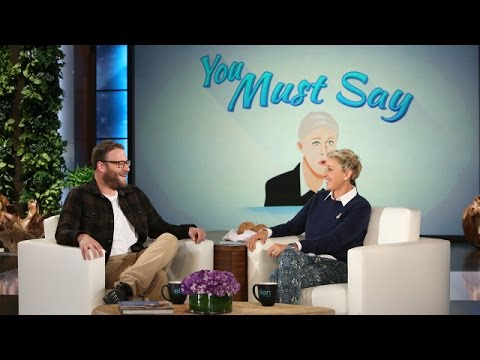 'You Must Say' with Seth Rogen and Carrie Underwood
