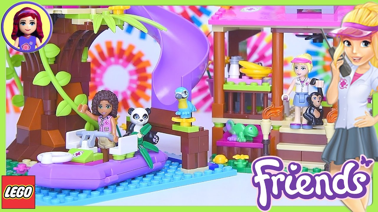 How To Build Lego Friends Jungle Rescue Base