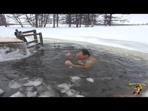 Крещенские купания. Оха