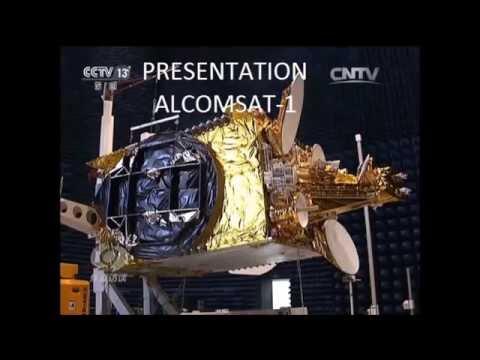 Satellite ALCOMSAT-1 القمر الاصطناعي الكومسات للجزائر