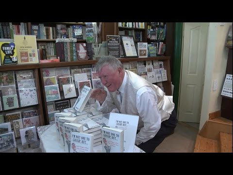 John McEntee Journalist  launches  I'M NOT ONE TO GOSSIP, BUT... in Crannog Bookshop