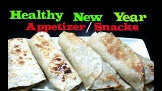 Healthy Appetizer (2019) |Simple&Quick Snacks |Grilled Veg Stuffed Roti |Easy Vegetarian Recipe
