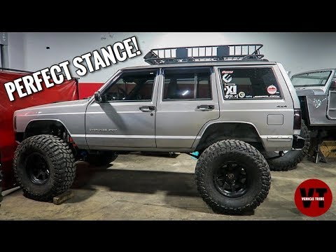 CLEAN JEEP CHEROKEE XJ ON 37s. ALL YOU NEED TO KNOW!
