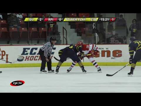 RPI Men's Hockey vs. Quinnipiac  University