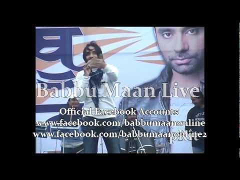 Babbu Maan Mitran Di Chatri Live and Reply...