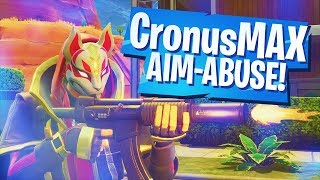 "CronusMAX PLUS - FORTNITE Aim Abuse ""aim bot"" mod with Mouse and Keyboard"