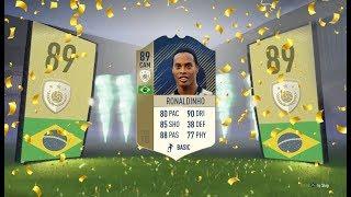 Fifa 18: Ronaldinho  89  Review - Fifa 18 Player Review!