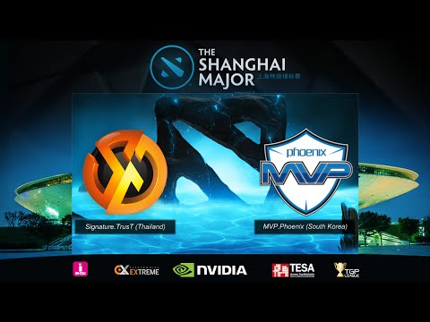 [ Dota2 ] Shanghai Major 2016 SEA Qualifier : Trust vs Phoenix - SZD (Thai Language)