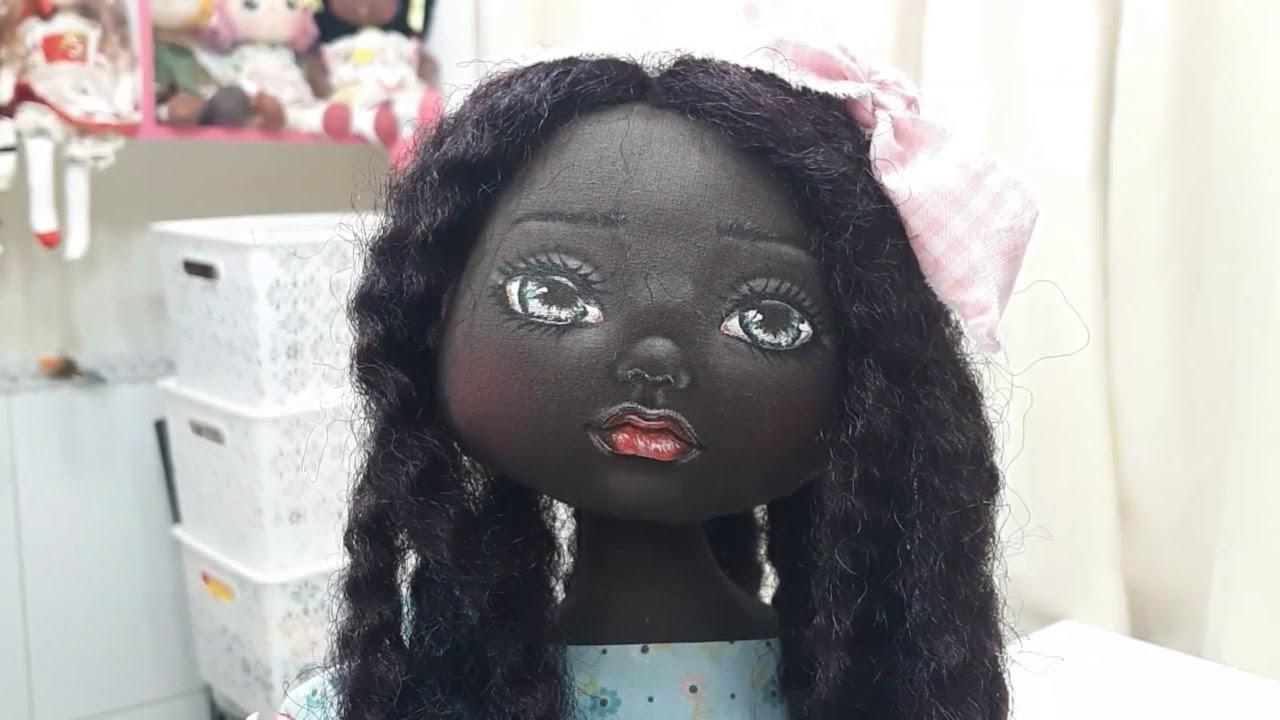 Molde Gratuito Bonecas Negras Youtube