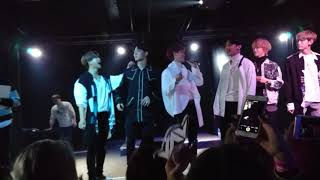 VAV Senorita Europe Tour 2018 - Ziu baby shark dance!