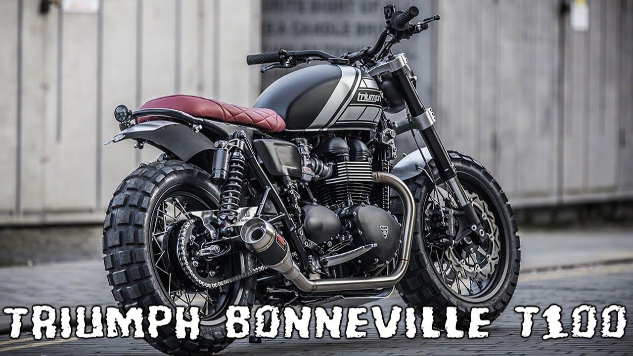 Triumph Bonneville T100 Custom Youtube