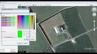 Creating a farm map in Google Earth