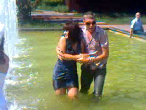 Наша свадьба в фонтане.3gp