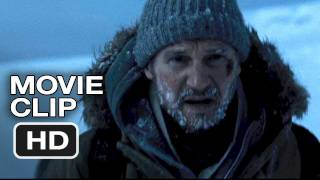 The Grey #1 Movie Clip - Wolves Chasing Liam Neeson (2012) HD