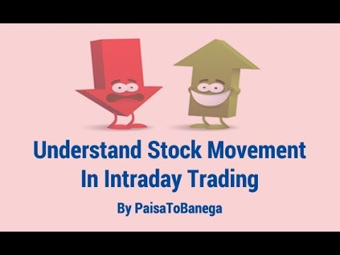 How To Understand Stock Movement In Intraday Trading By Paisa Banega