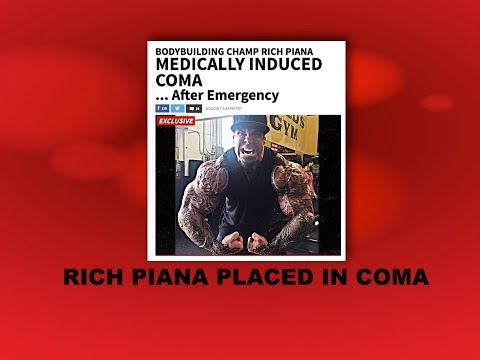 Rich Piana Placed in Medically Induced Coma