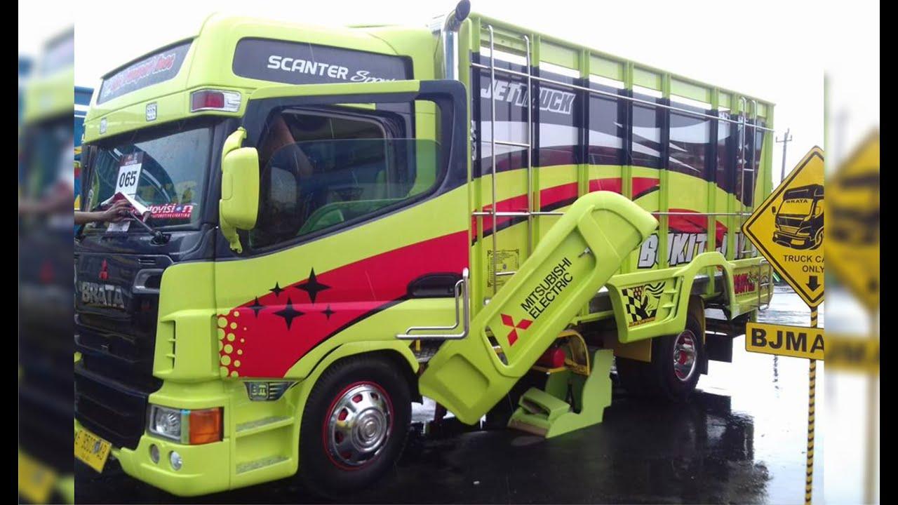 Pemenang Kategori Terbanyak Brata Mitsubishi Fuso Modification Truck