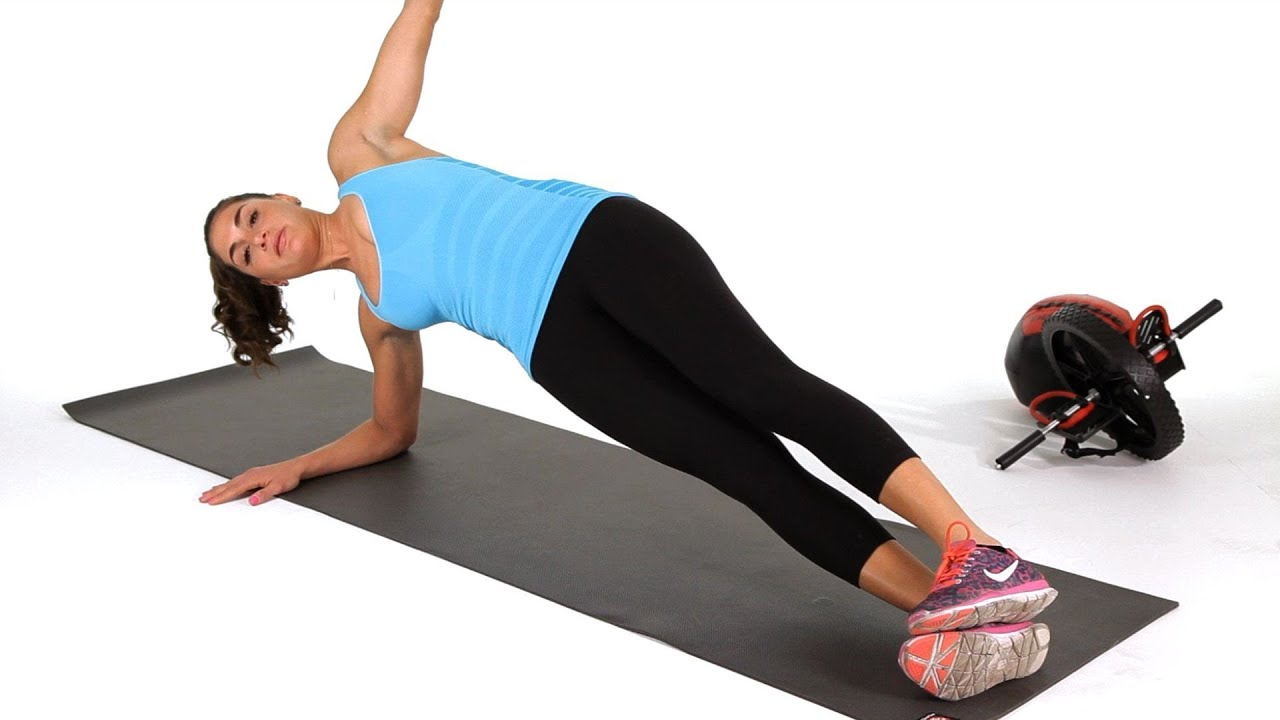 How to Do a Side Plank with Hip Lifts | Abs Workout - YouTube