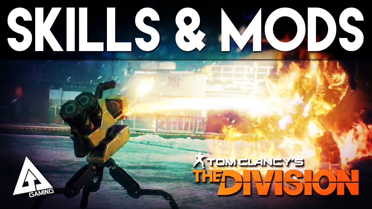 the division all skills and skill mods explained