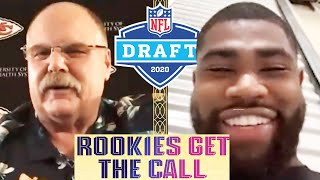 Rookies Get the Draft Phone Call from Their New Team! | 2020 NFL Draft