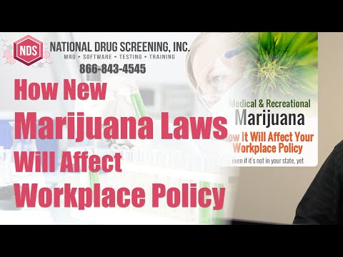How Medical & Recreational Marijuana Laws Affect Workplace Policy
