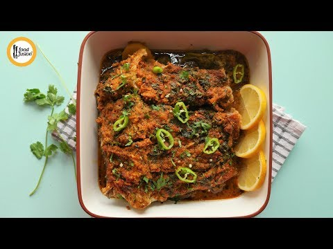 Steam Fish with Gravy Recipe By Food Fusion