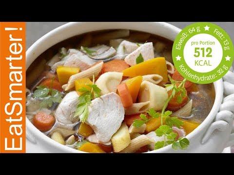 Hühnersuppe Nach Großmutters Art Rezept видео с Youtube на